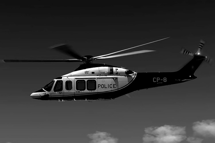 Connected surveillance in Cyprus police helicopters