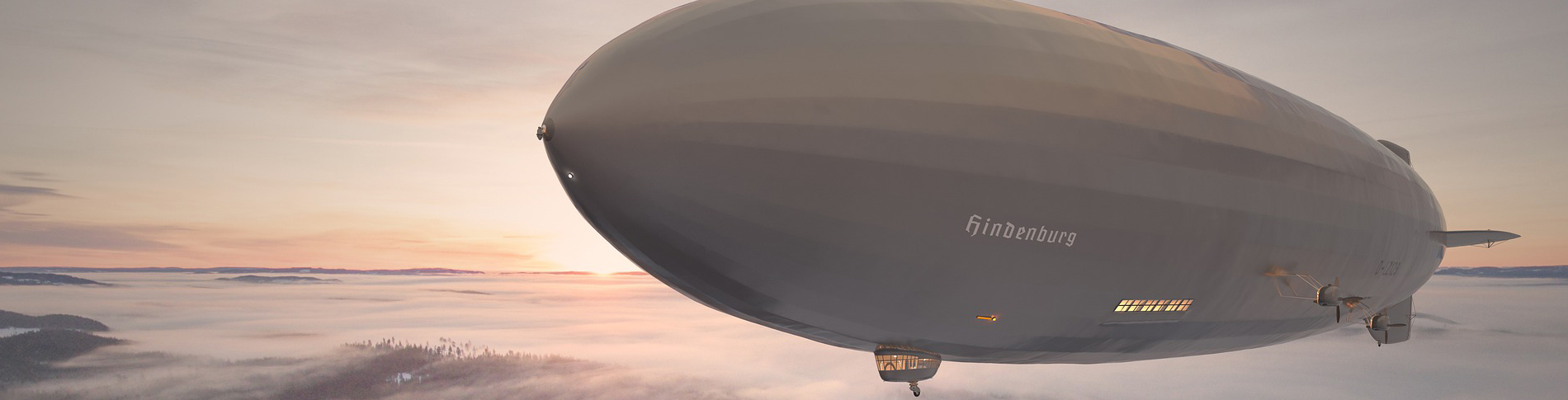 Modern connectivity solution for zeppelin sightseeing flights