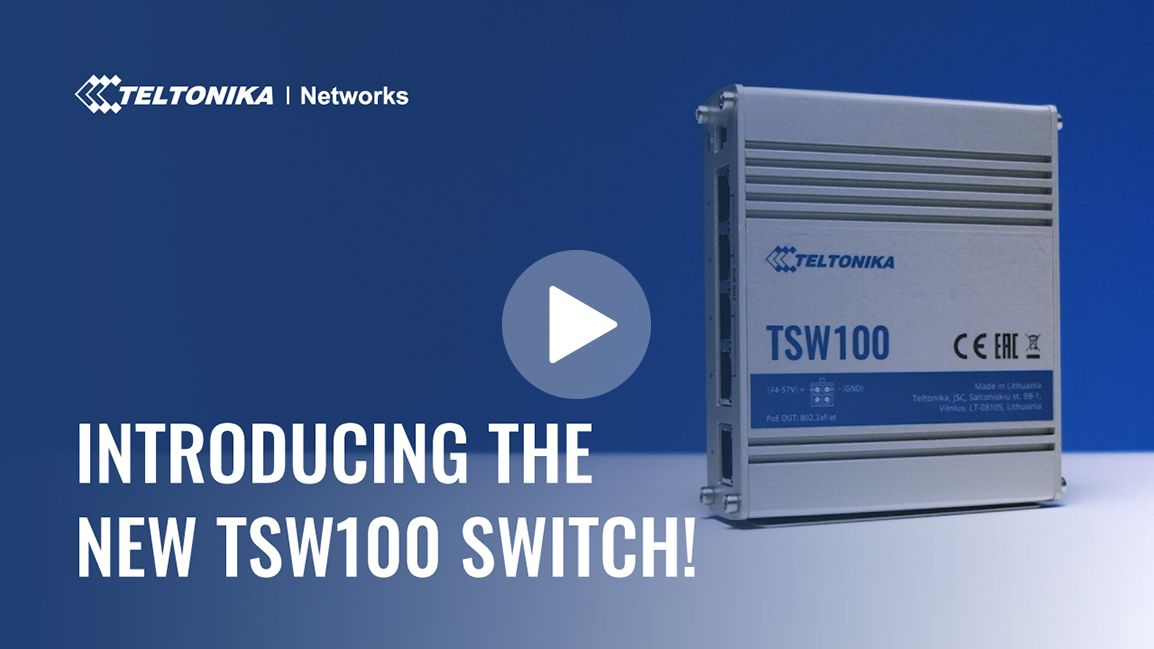 Introducing the new TSW100 switch!