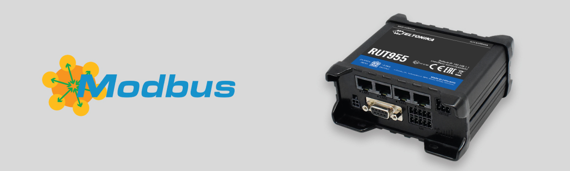 Modbus RTU Master functionality for RUT955 now available!