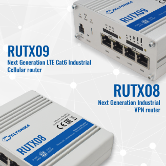 NEW generation RUTX router series!