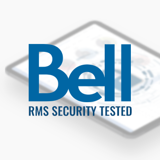 RMS security approved by Bell