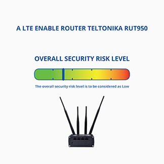RUT950 security test