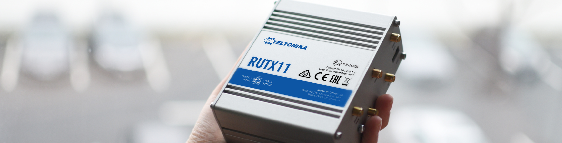 RUTX11 Acquired Verizon Certification