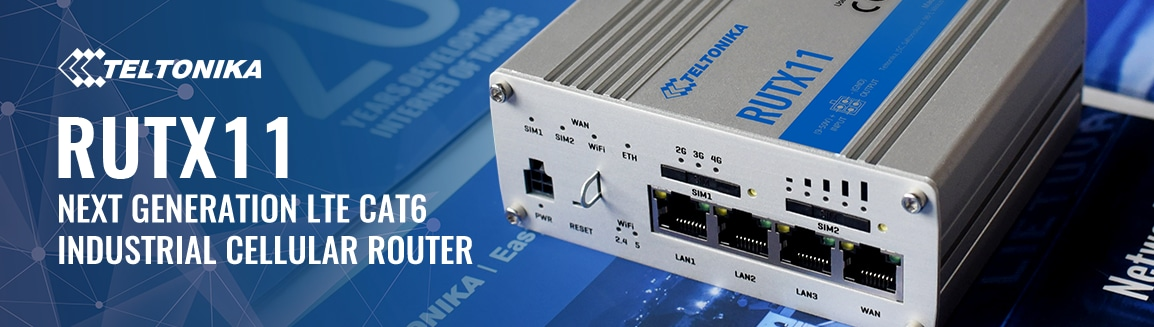 Next Generation LTE CAT6 Industrial Cellular Router