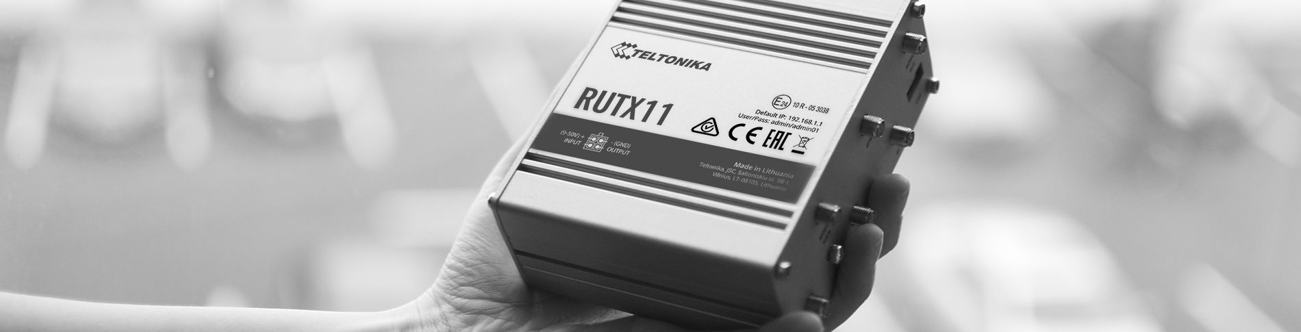 RUTX11 awarded RCM and E-Mark (E24) approvals!