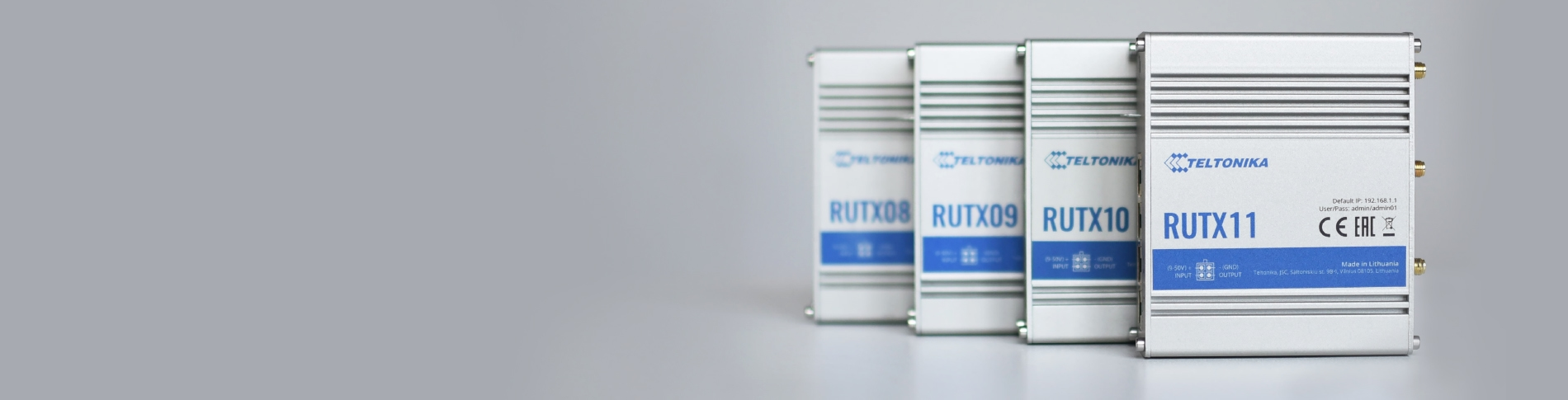 Significant RutOS update for RUT X series devices!