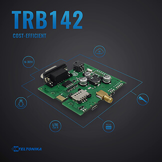 TRB142 - RS232 Communicator