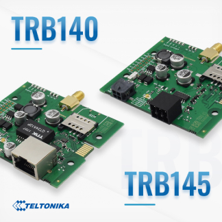 Two new TRB series gateway boards!