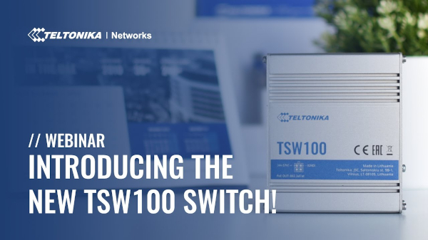 Introducing The New TSW100 Switch