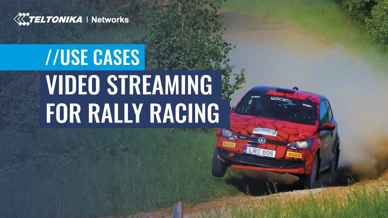 Video Streaming Use Case for Rally Racing