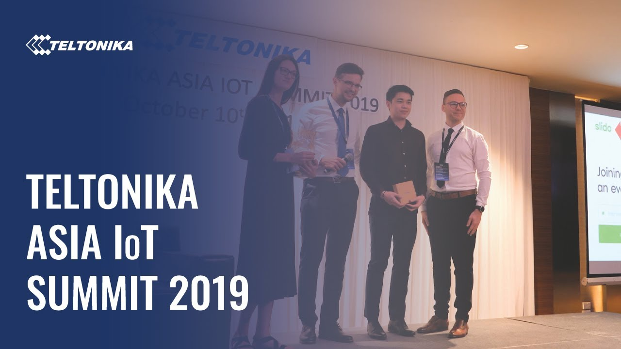 Teltonika IoT summit in Thailand 2019!