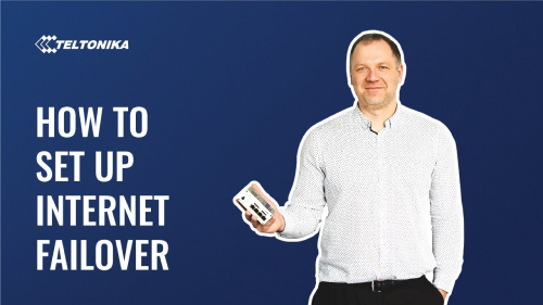 How to Set Up Internet Failover with LTE Cellular Router