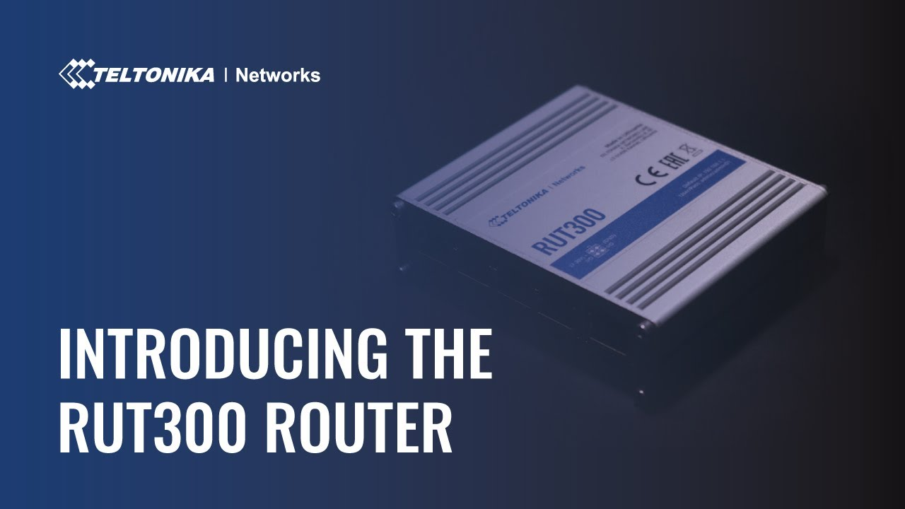 RUT300 - Industrial Ethernet Router