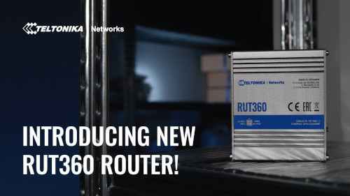 RUT360 - LTE CAT6 Industrial Cellular Router