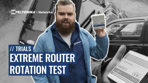 Extreme Router Rotation Test - Trials of Teltonika Networks