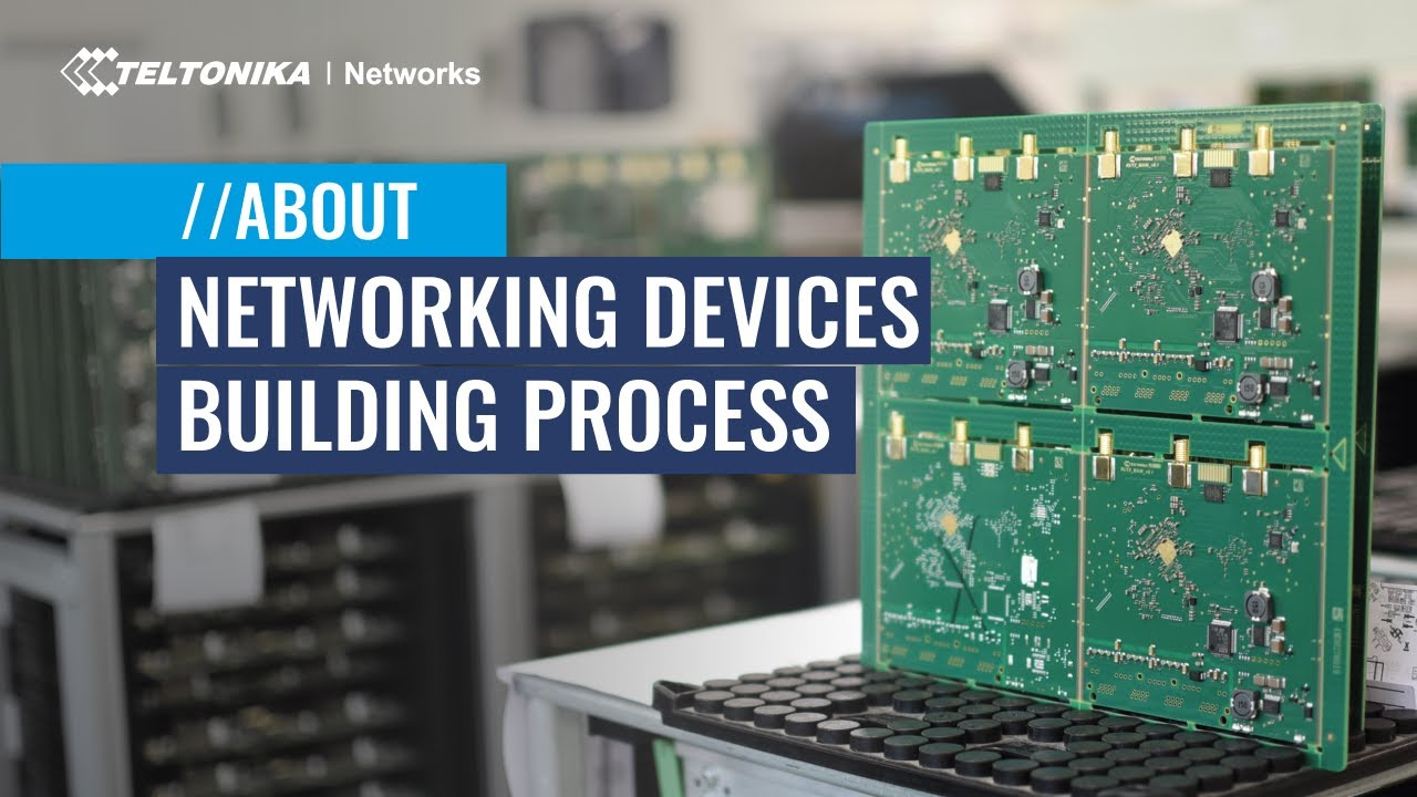 Routers Manufacturing Facility Tour