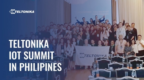 Teltonika IoT summit in Philipines